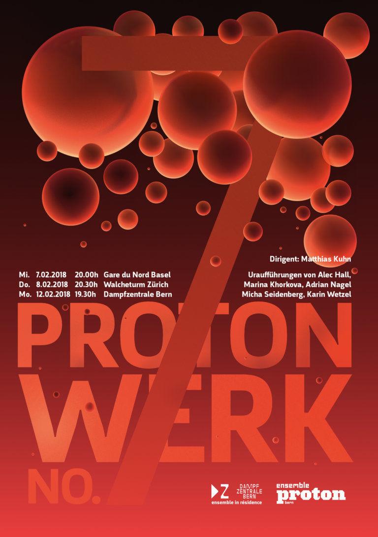 Konzertübertragung auf SRF2: protonwerk no. 7