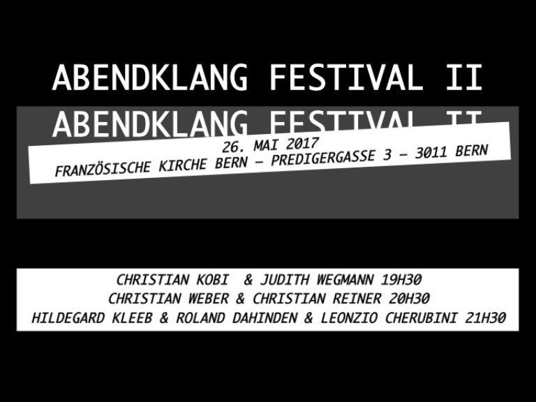 2. Abendklang Festival