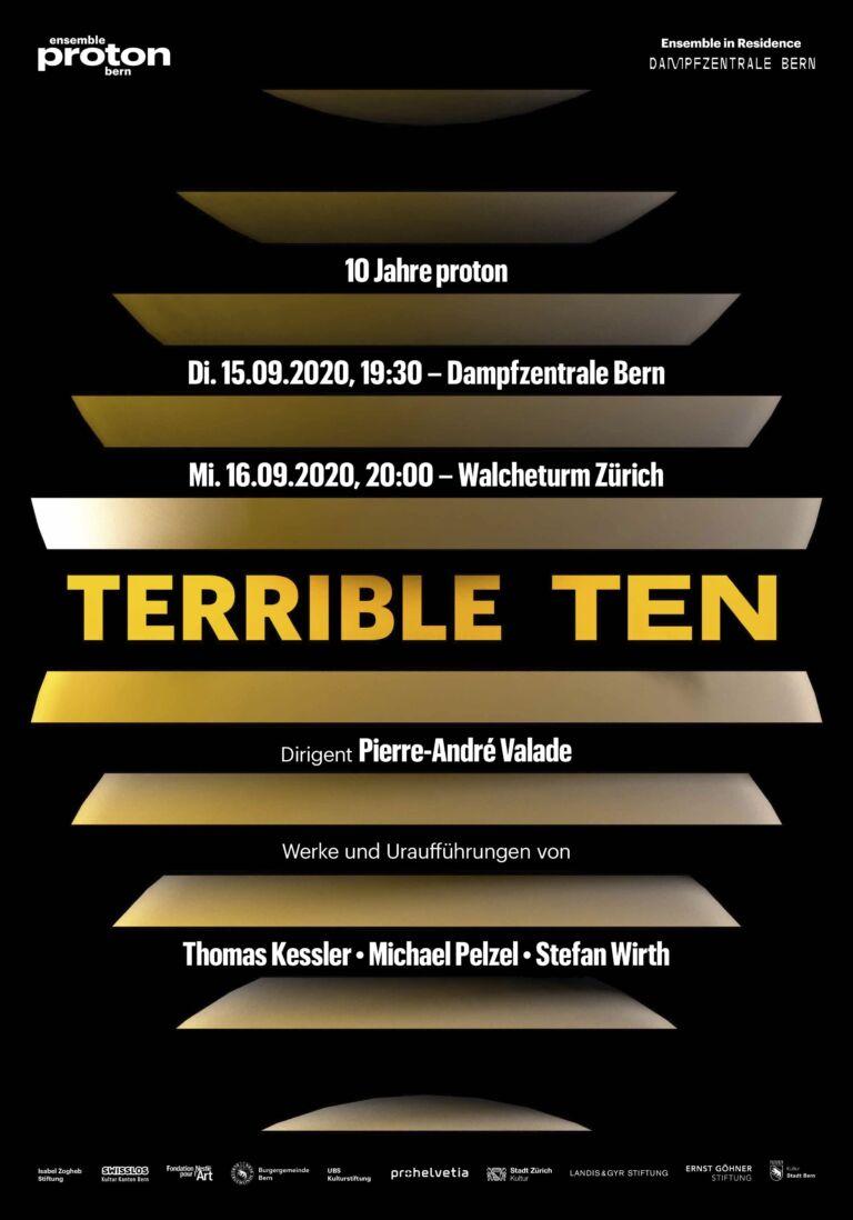 TERRIBLE TEN | ensemble proton bern