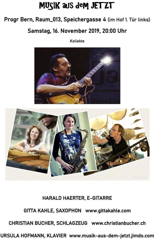 Musik aus dem Jetzt | Gitta Kahle, Harald Haerter, Christian Bucher und Ursula Hofmann