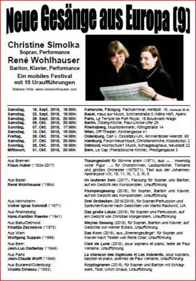 Simolka & Wohlhauser bei l'art pour l'Aar!
