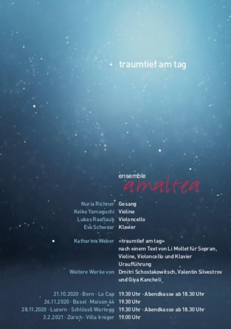 traumtief am tag | Ensemble Amaltea