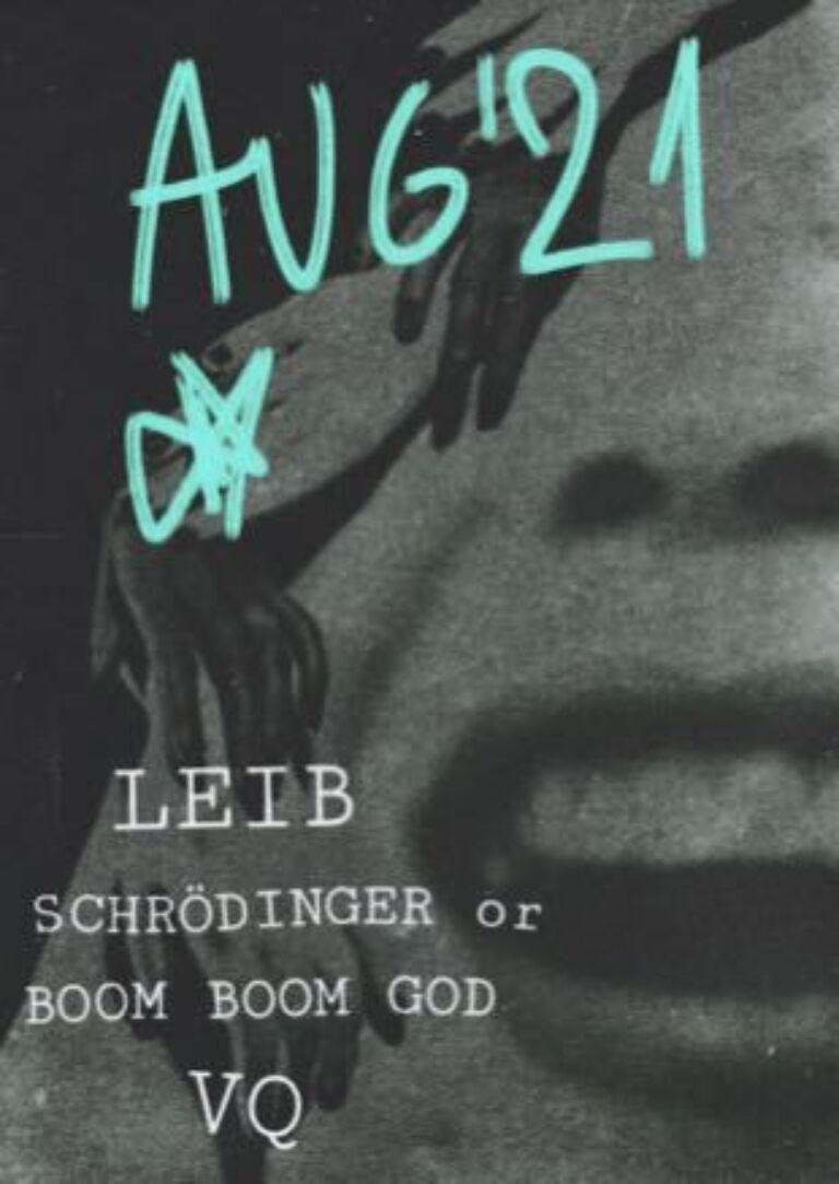 VQ / Leib / Schrödinger or Boom Boom God