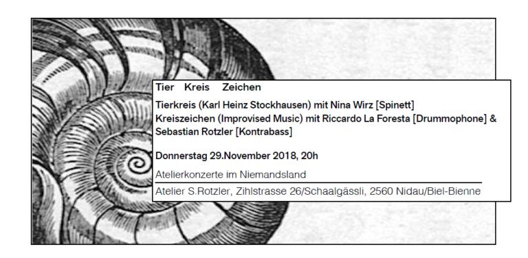 Stockhausen trifft auf freie Impro!