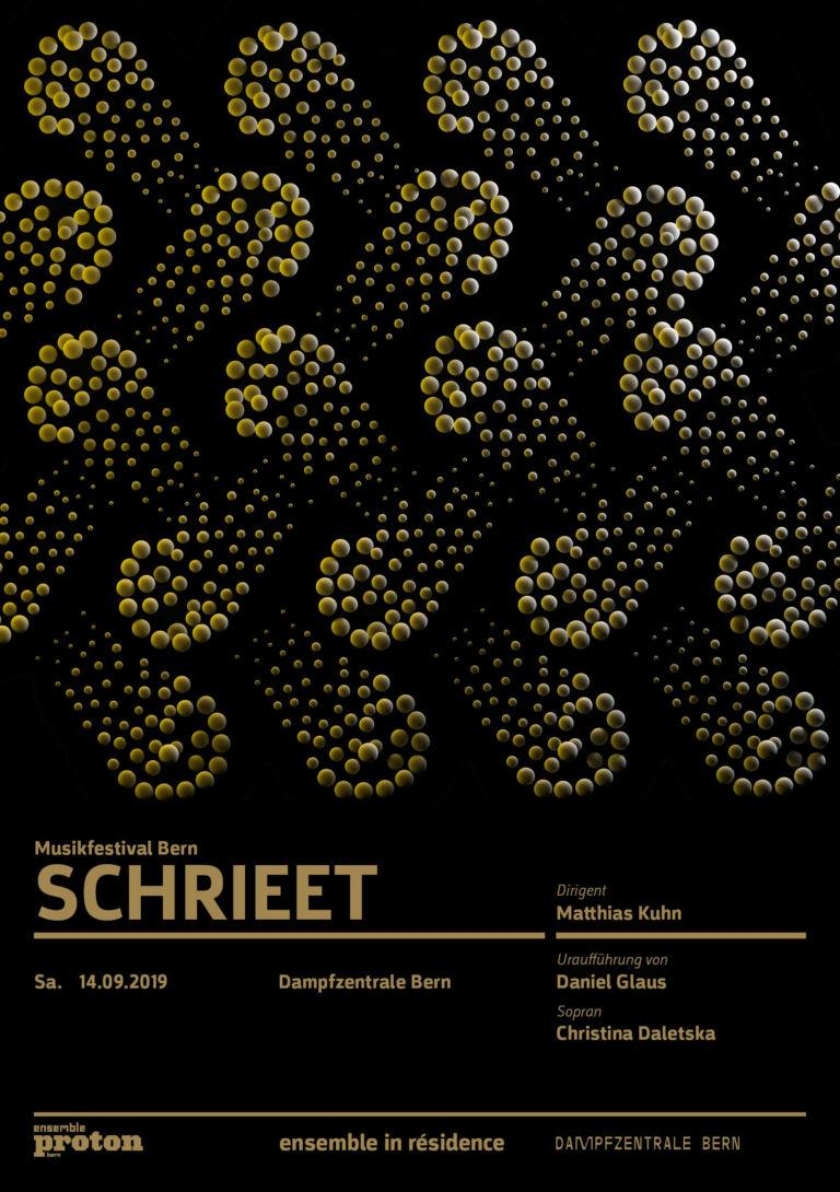 Ensemble Proton | SCHRIEET – Musikfestival Bern